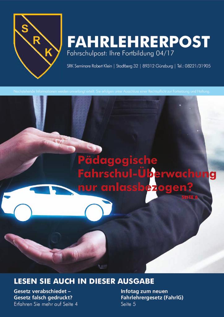 Fahrlehrerpost 04 – 2017